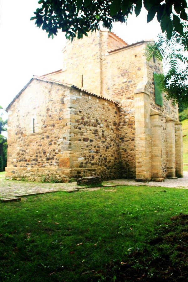 San Miguel de Lillo, Oviedo, Spanien lizenzfreie stockbilder