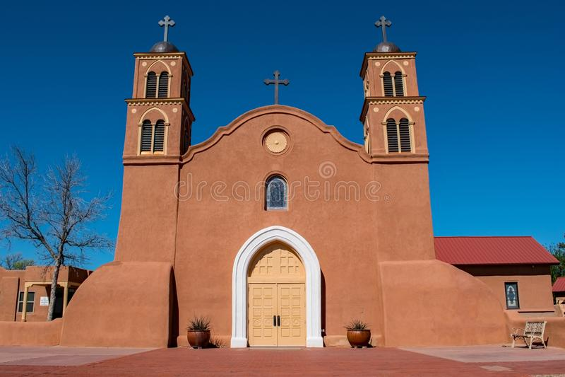 San Miguel de Socorro Church stockfoto