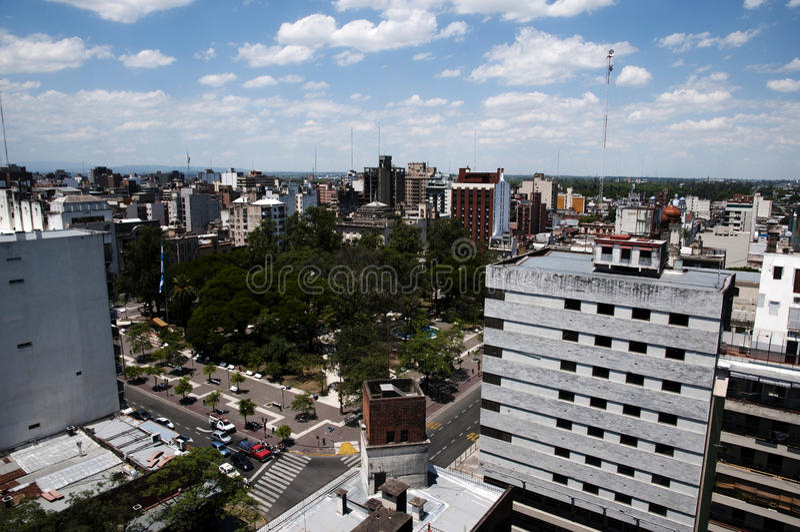 San Miguel de Tucuman - Argentina arkivbild