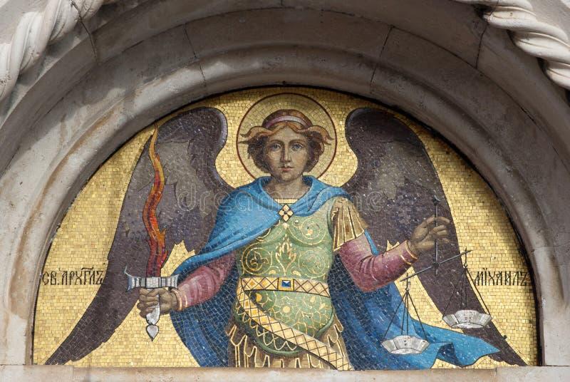 San Miguel el arcángel foto de archivo libre de regalías