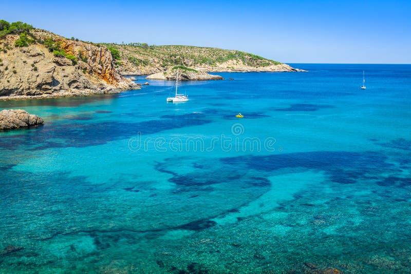 San Miguel - Ibiza - Balearic Island - Spanien arkivbild