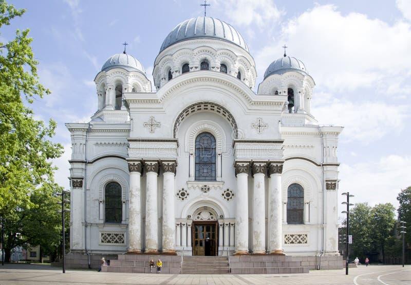 San Miguel la iglesia del arcángel fotos de archivo