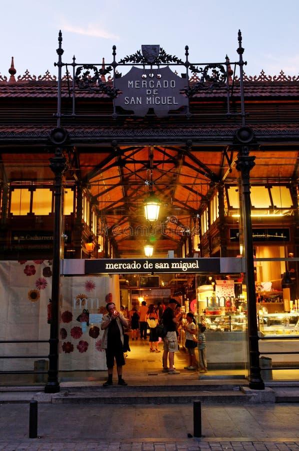San Miguel, Madrid photo stock