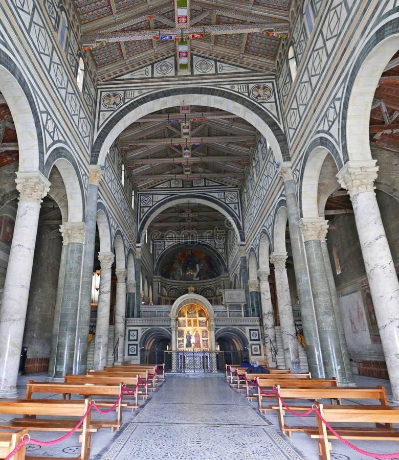 San Miniato al Monte royalty free stock photography