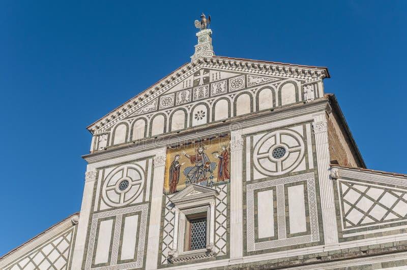 San Miniato al Monte basilica in Florence, Italy. royalty free stock photo