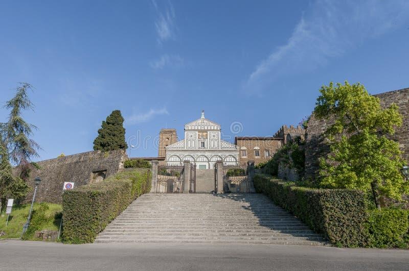 Download San Miniato Al Monte Basilica In Florence, Italy. Stock Image - Image of minias, landmark: 39509515