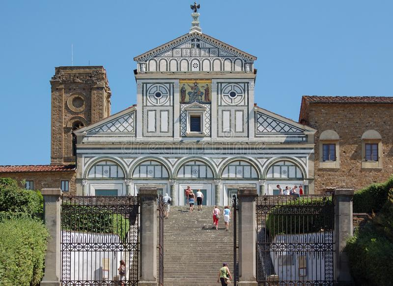 San Miniato al Monte - Florence royalty free stock photo