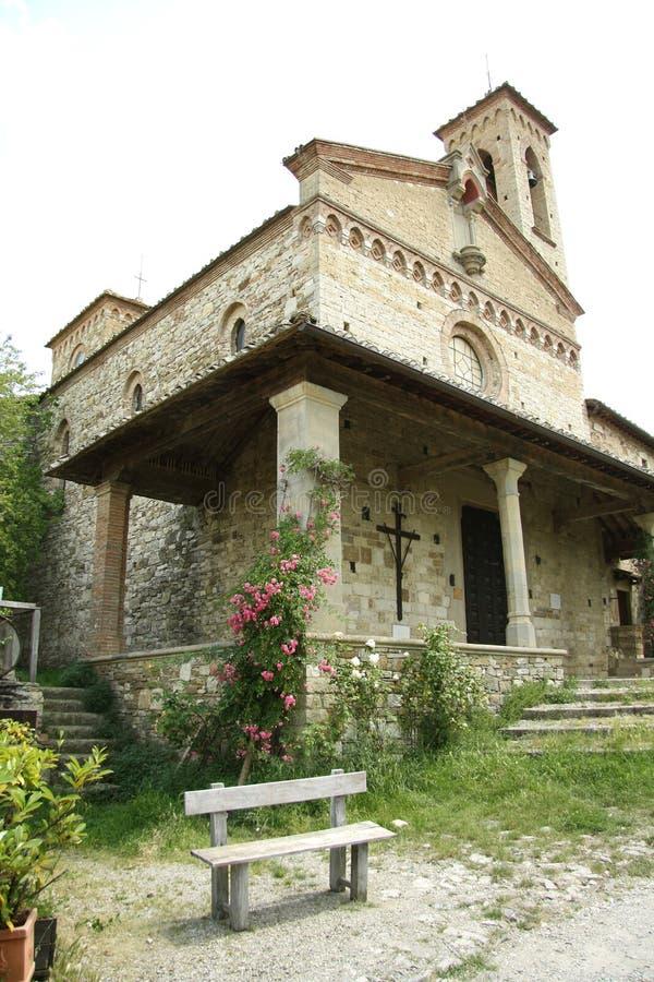 San Miniato Church In Sicelle (Tuscany, Italy) Stock Photo