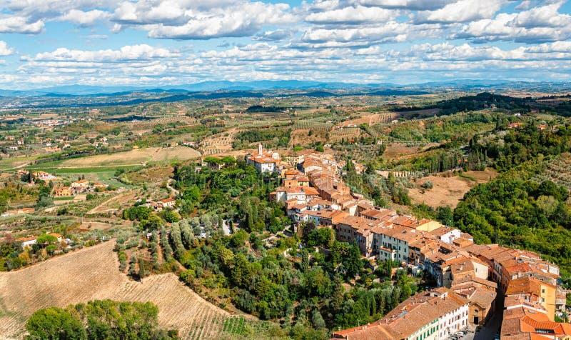 San Miniato, Włochy - zdjęcie royalty free