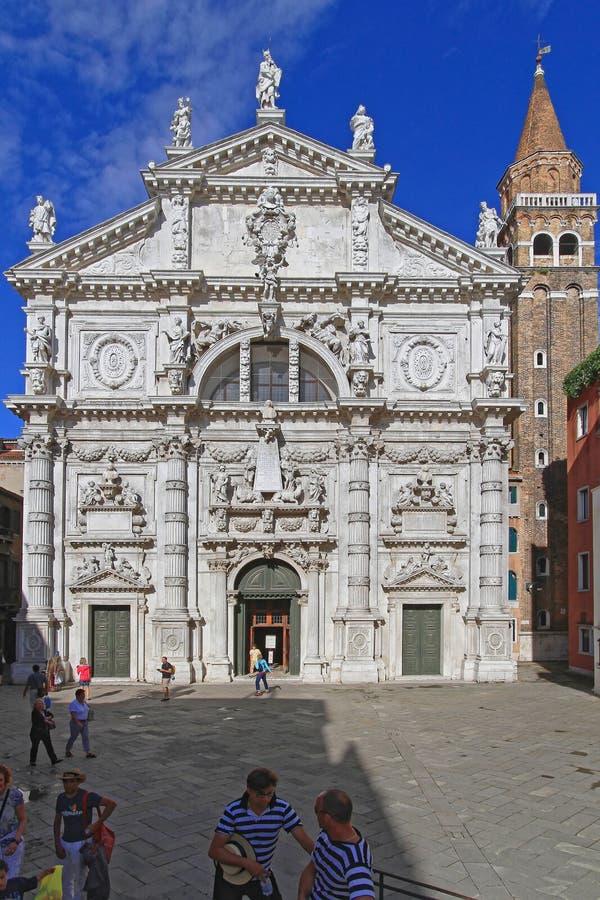 San Moise Venedig stockfotografie