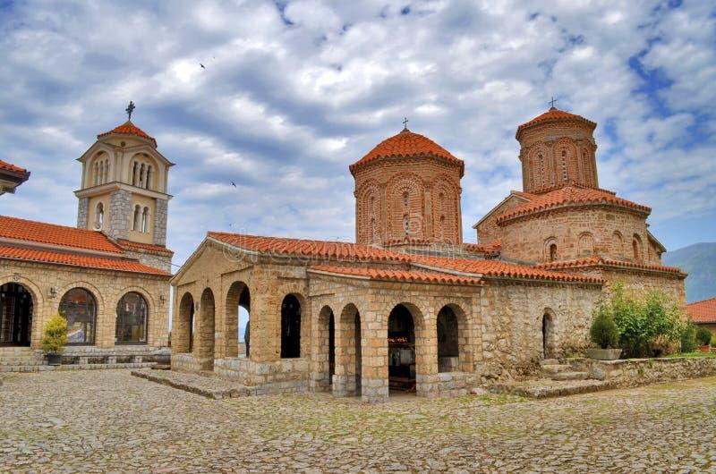 San Naum Monastery, Ocrida, Macedonia fotografie stock libere da diritti