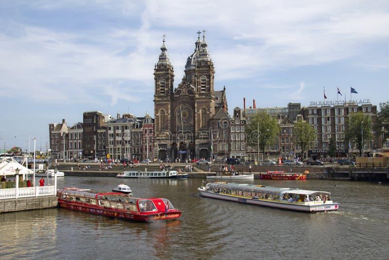 San Nicholas Church a Amsterdam fotografie stock
