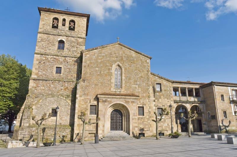 San Nicolas de Bari i Aviles, Spanien fotografering för bildbyråer