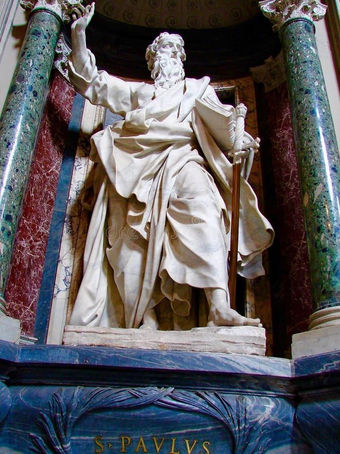 San Pablo, ArchBasilica de St John Lateran, Roma, Italia fotos de archivo libres de regalías