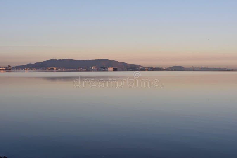 San Pablo Bay San Francisco Morning lizenzfreie stockfotografie