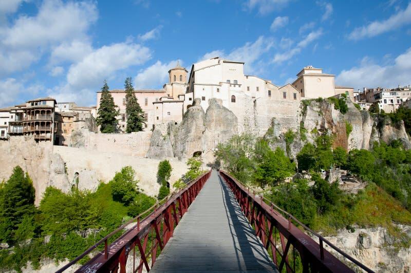San Pablo Bridge - Cuenca - Spanje stock fotografie