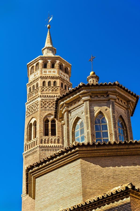 San Pablo Church en Zaragoza, España imagen de archivo libre de regalías