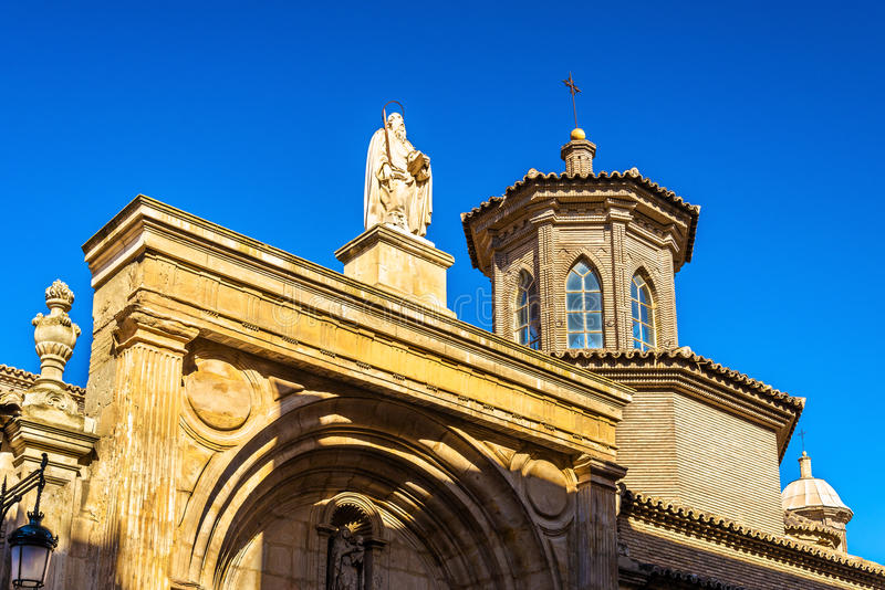 San Pablo Church a Saragozza, Spagna immagine stock