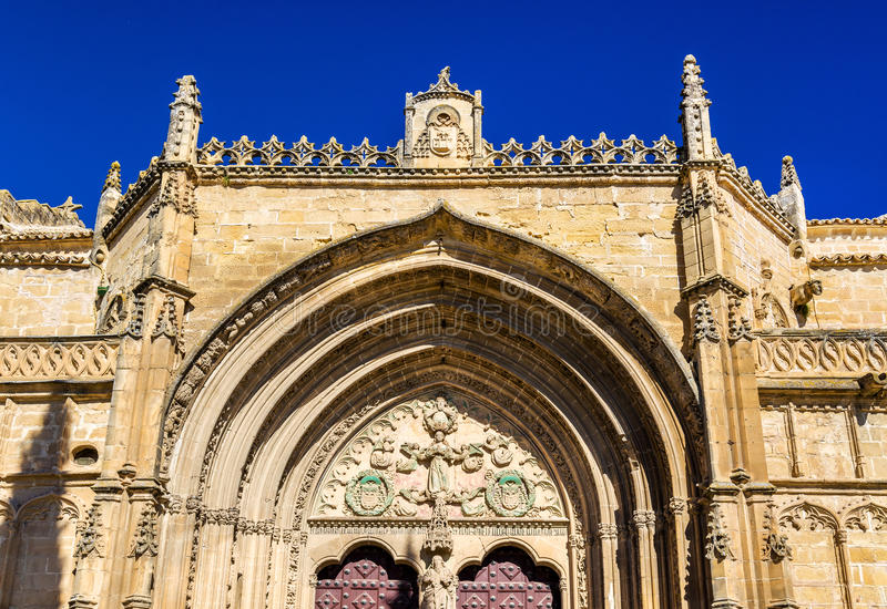 San Pablo Church Ubeda - in Spagna immagini stock