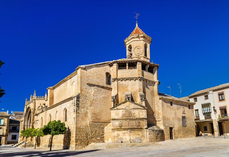 San Pablo Church Ubeda - in Spagna fotografia stock libera da diritti