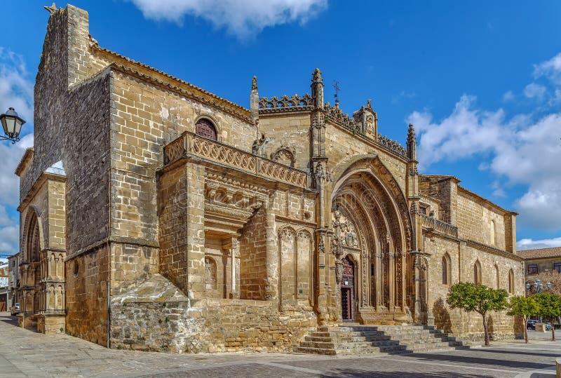 San Pablo Church, Ubeda, Spane fotografia stock