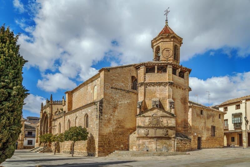 San Pablo Church, Ubeda, Spane immagine stock