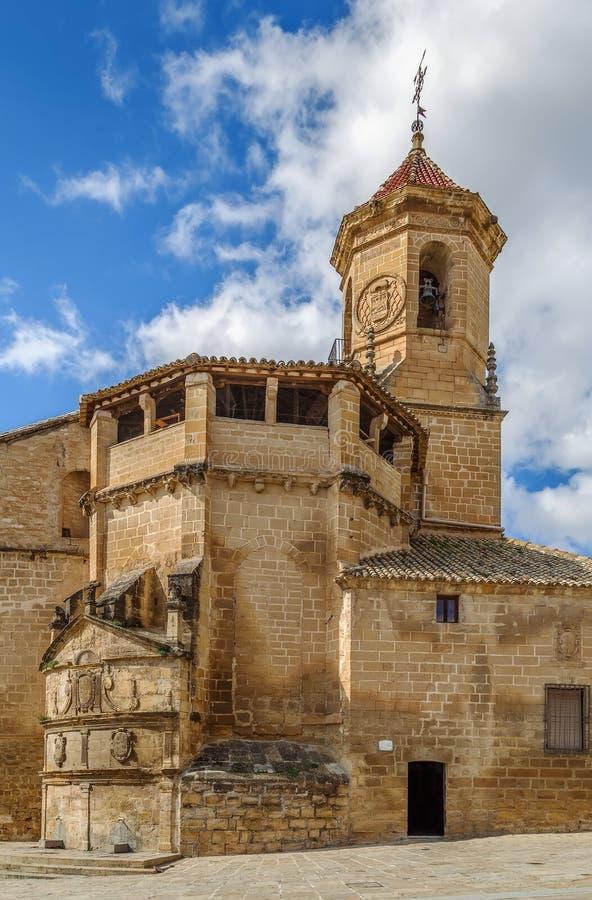San Pablo Church, Ubeda, Spane immagini stock libere da diritti