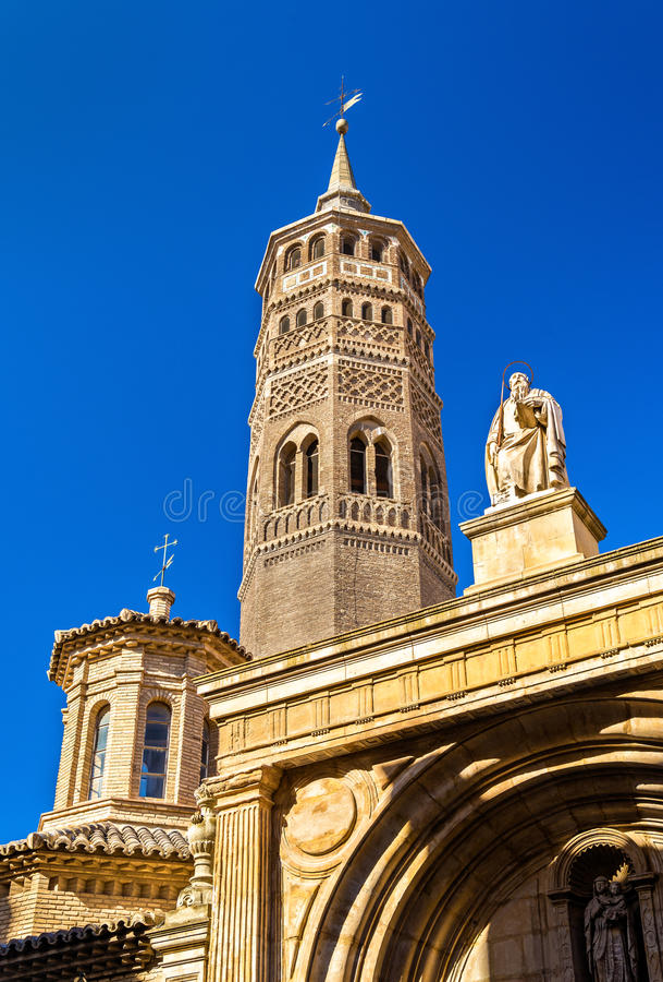 San Pablo Church in Zaragoza, Spain. San Pablo Church in Zaragoza - Spain, Aragon Region royalty free stock photos