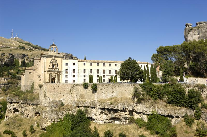 San Pablo convent, Cuenca, La Mancha, stock images