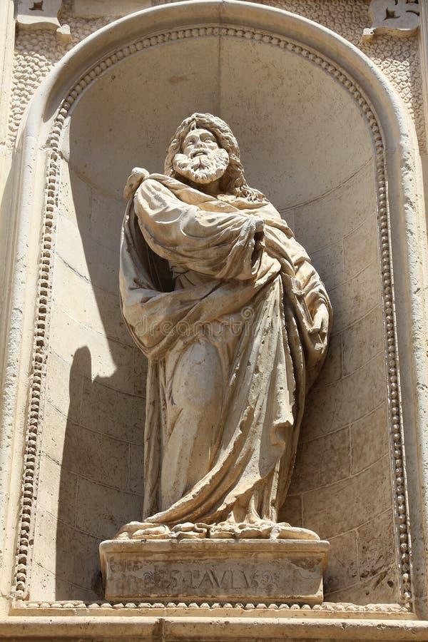 San Pablo el apóstol imagen de archivo