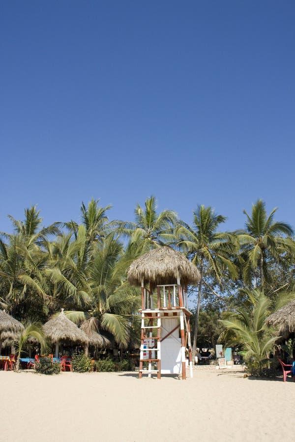 San Pancho San Fransisco plaża Meksyk zdjęcia stock