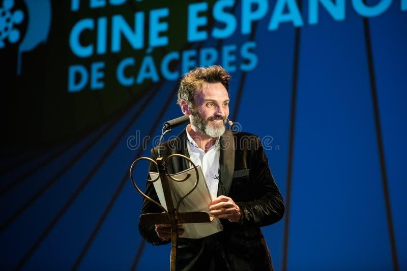 San Pancracio Award e festival de cinema espanhol caritativo foto de stock