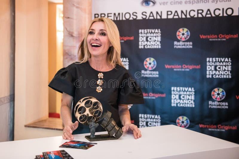San Pancracio Award e festival de cinema espanhol caritativo imagem de stock
