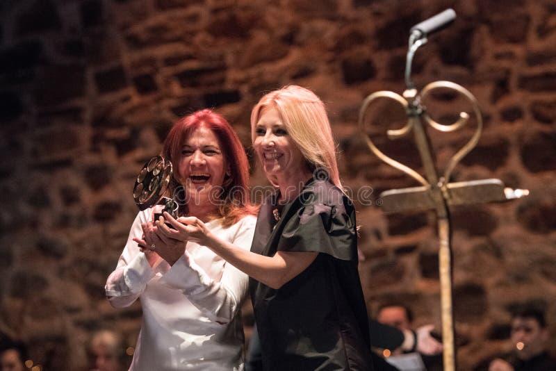 San Pancracio Award e festival de cinema espanhol caritativo foto de stock royalty free