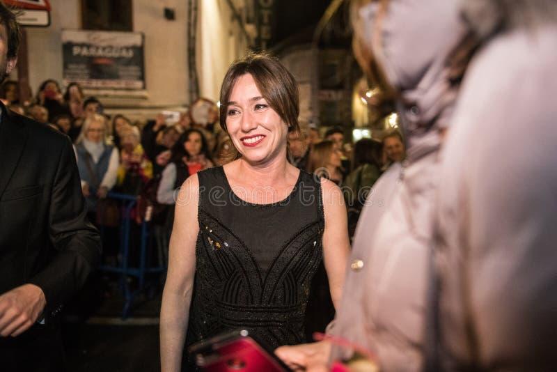 San Pancracio Award e festival de cinema espanhol caritativo imagens de stock