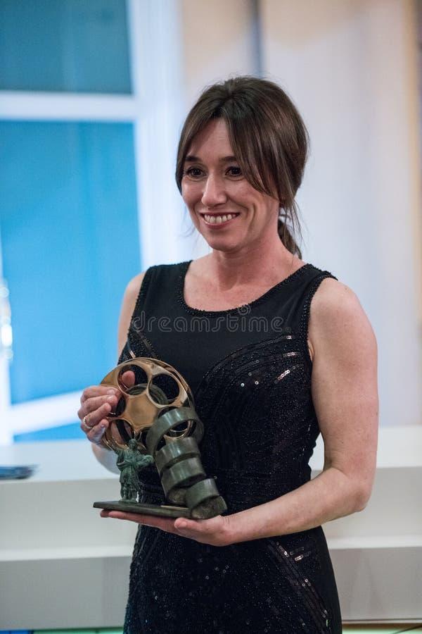 San Pancracio Award e festival de cinema espanhol caritativo fotos de stock royalty free