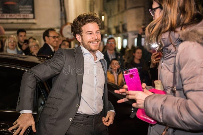 San Pancracio Award e festival de cinema espanhol caritativo imagem de stock royalty free