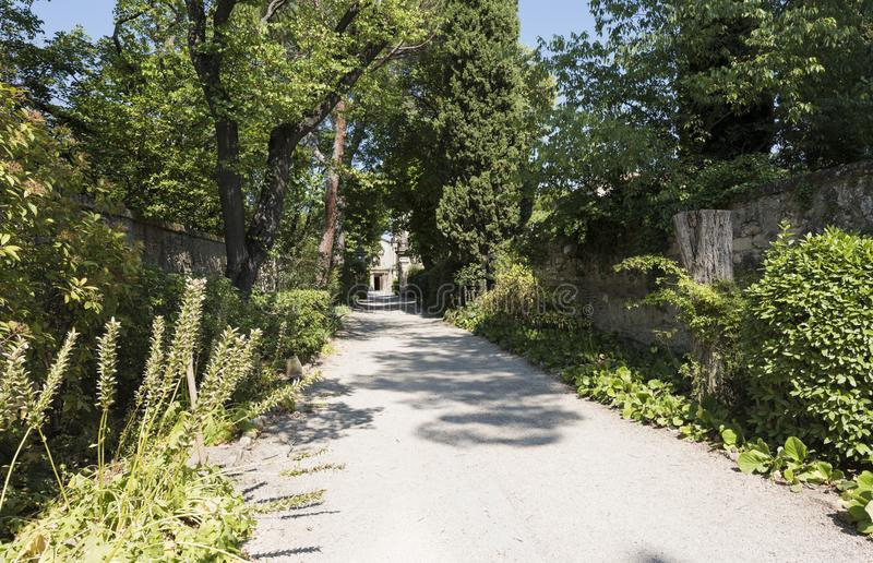 San Paul de Mausole au saint-Remy De Provence photographie stock