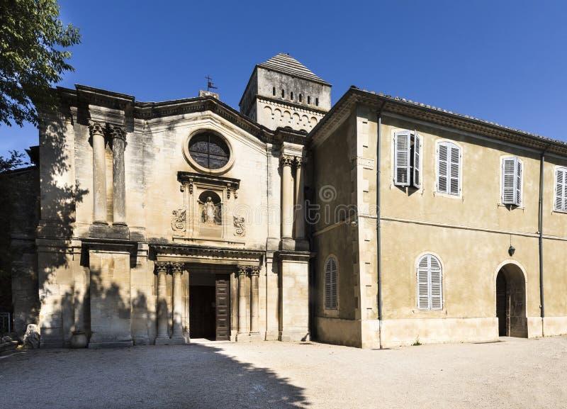San Paul de Mausole au saint-Remy De Provence images stock
