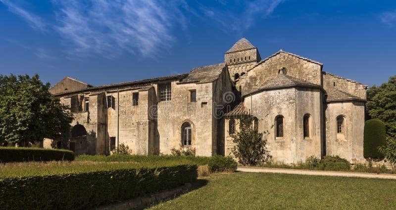 San Paul de Mausole au saint-Remy De Provence images libres de droits