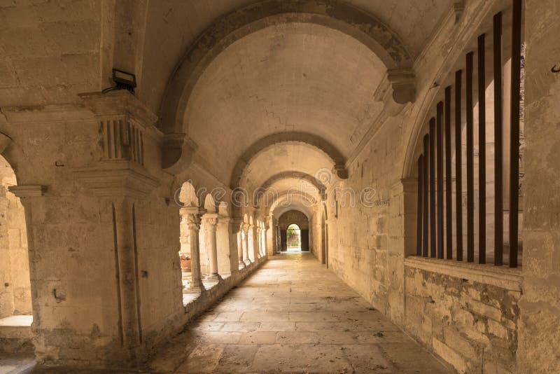 San Paul de Mausole au saint-Remy De Provence image stock