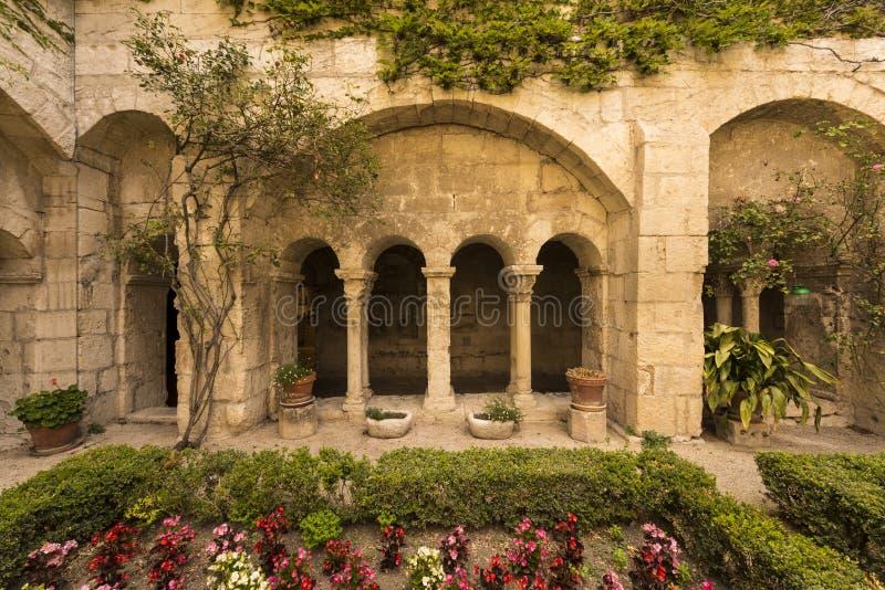 San Paul de Mausole au saint-Remy De Provence image libre de droits