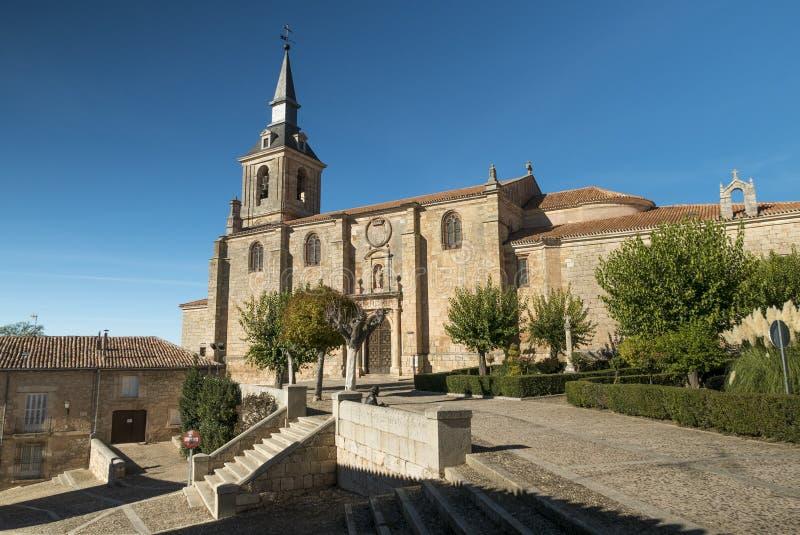 San Pedro牧师会主持的教堂 库存照片