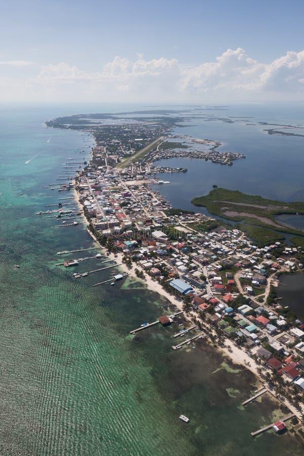San Pedro, Belice imagen de archivo