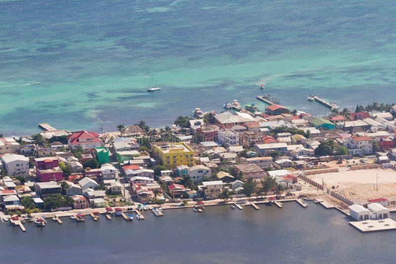 San Pedro, Belize images libres de droits