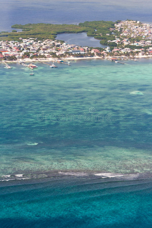 San Pedro, Belize royalty free stock image