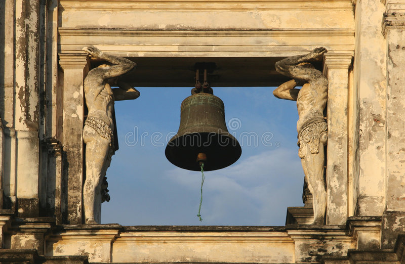 Download San Pedro bell stock image. Image of famous, christan - 5232219