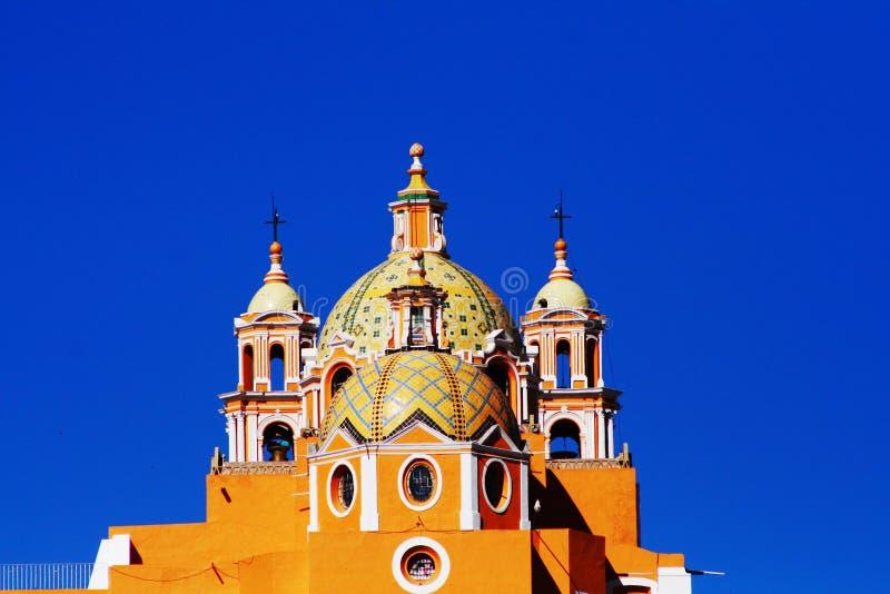 Download San pedro cholula stock photo. Image of christian, chapels - 12722652