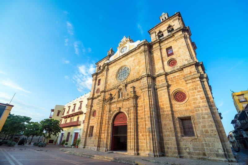 San Pedro Claver Church fotografia de stock royalty free