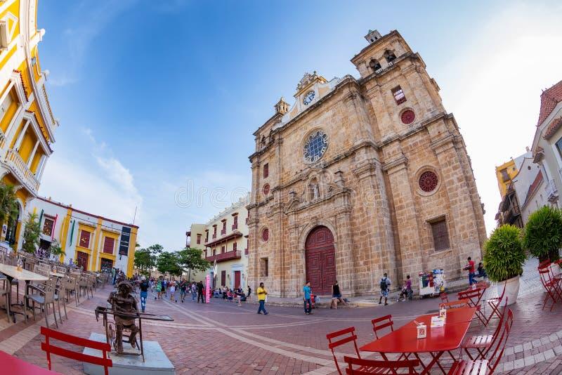 San Pedro Claver Church fotos de stock royalty free